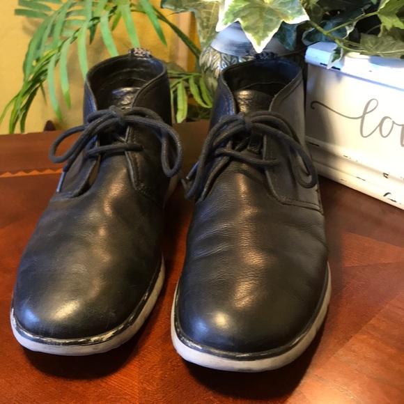3591c4104bb UGG Black Freamon Waterproof Chukka Boots